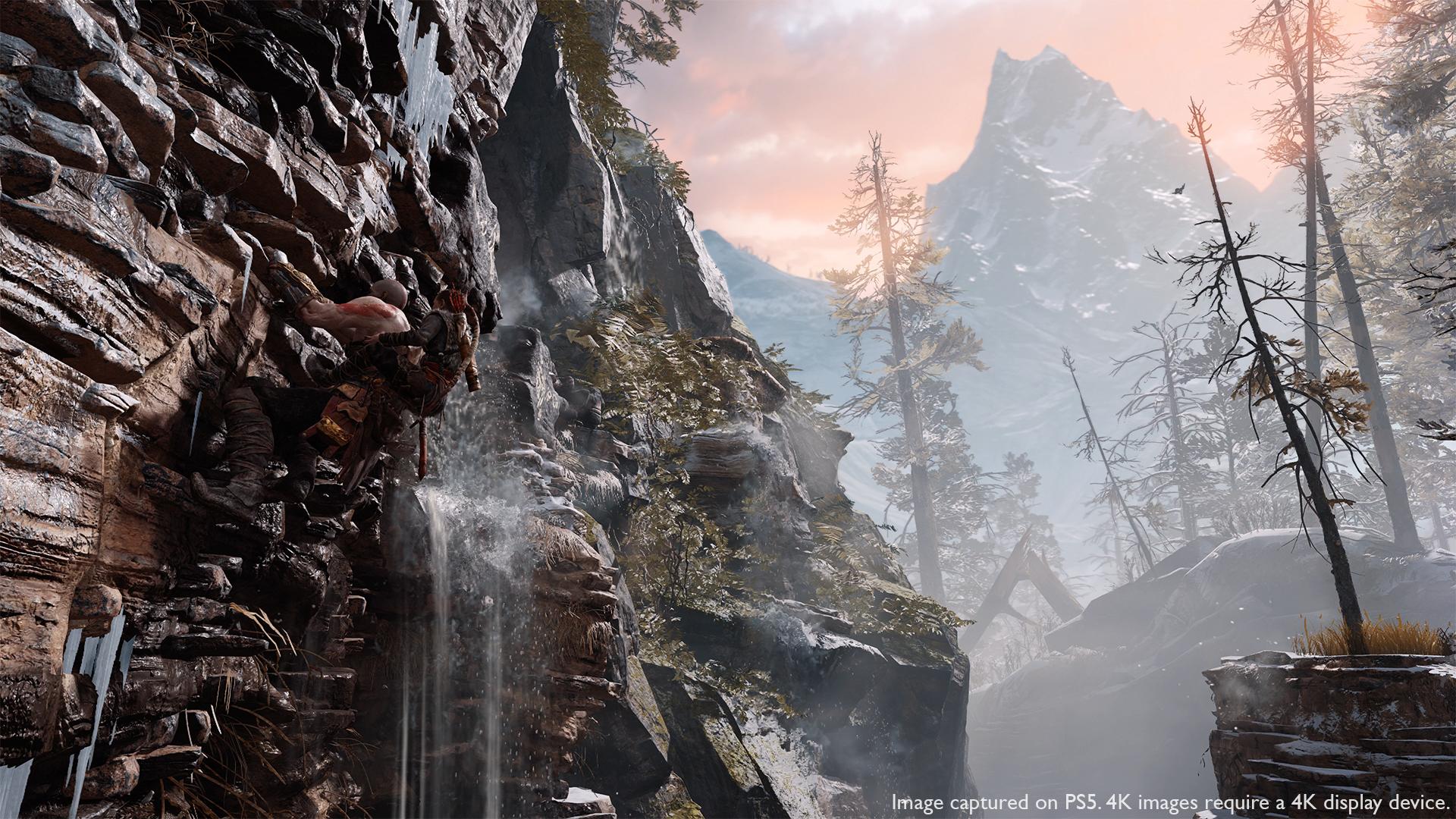 God of War screenshot from PS5