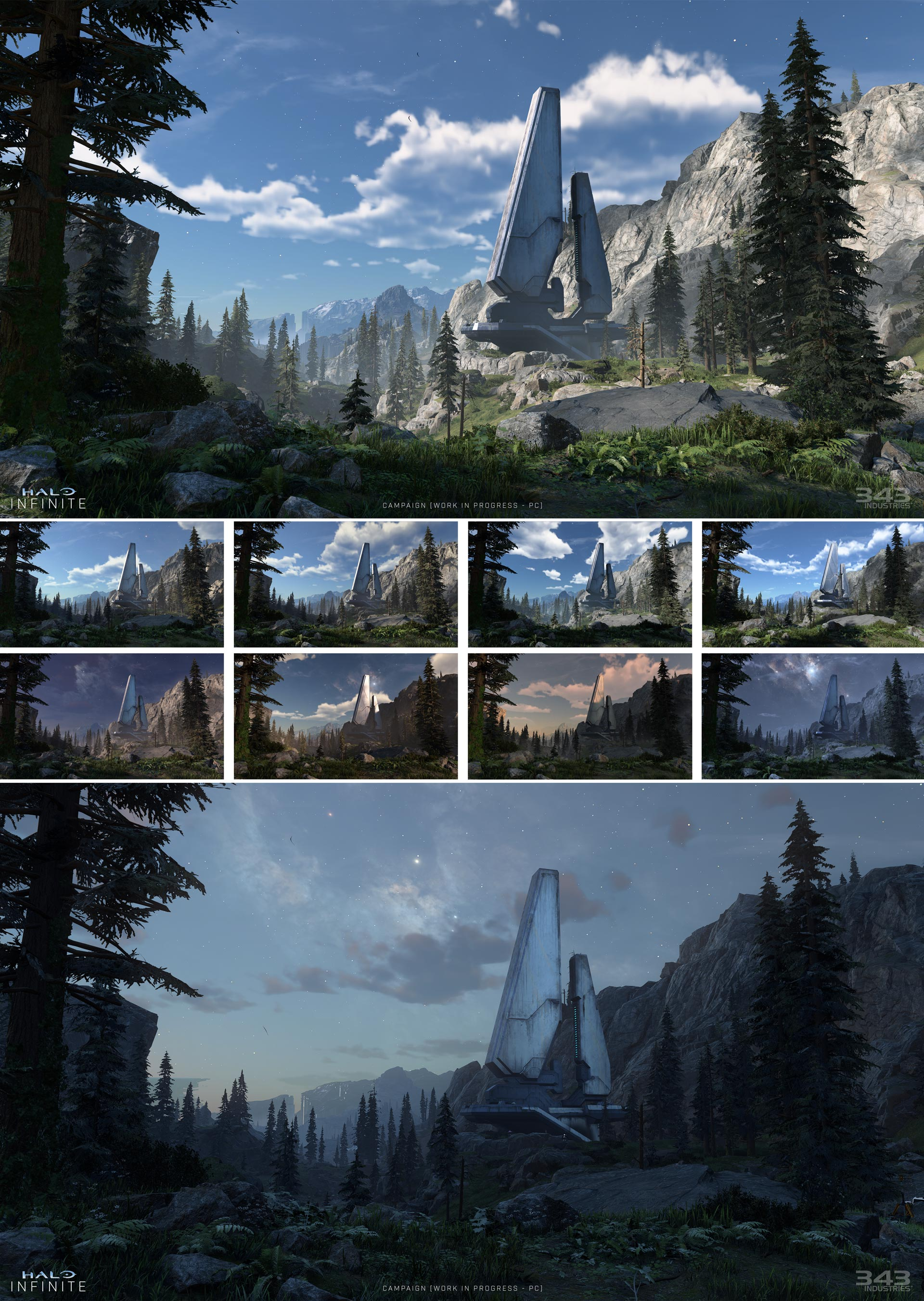 halo infinite time of day lighting cycle
