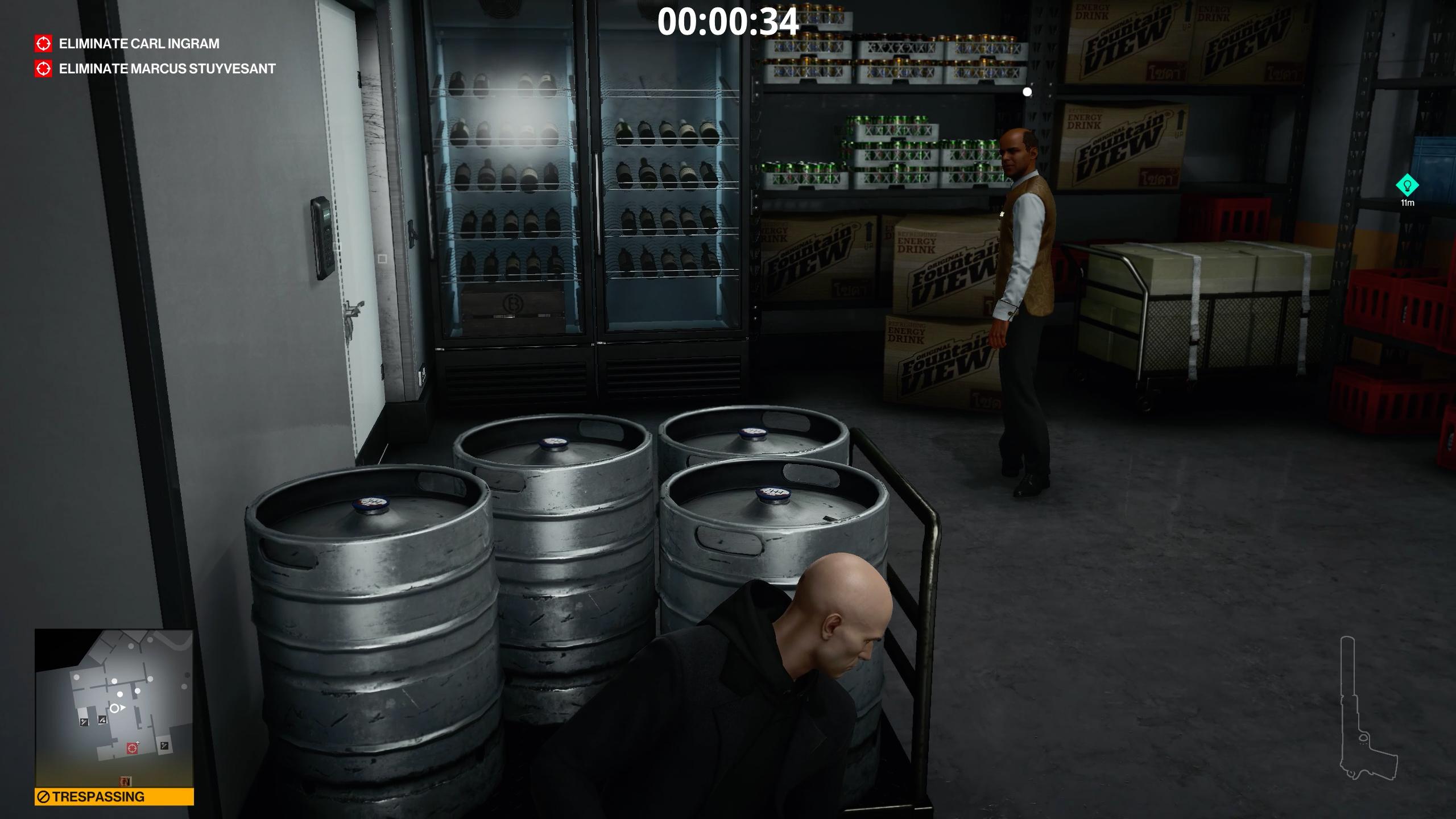 how to unlock elevators - hitman 3 - avoid this guy