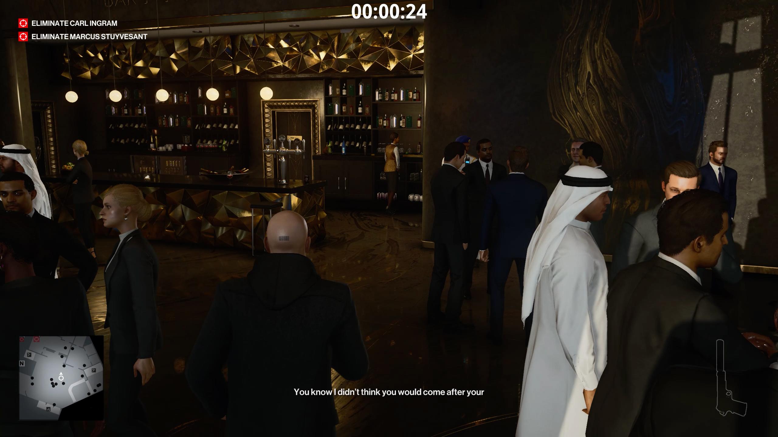 how to unlock elevators - hitman 3 - staff room