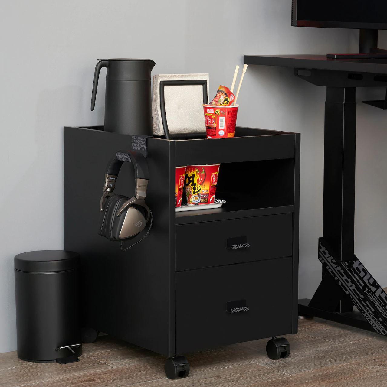 IKEA gaming drawers
