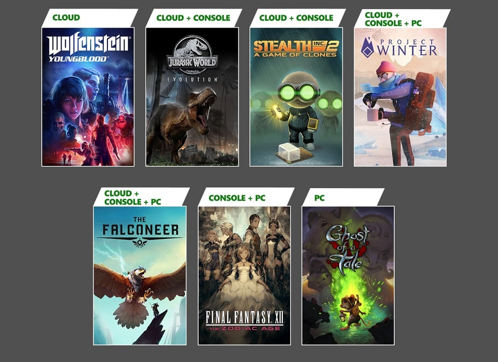 The full lineup for February 2021's Xbox Game Pass additions include Jurassic World Evolution, Final Fantasy 12, and Wolfenstein: Youngblood, just to name a few.
