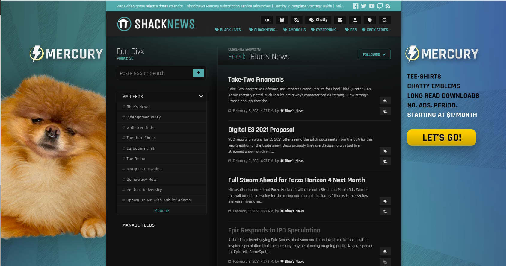 Follow all the news with Shacknews Reader.