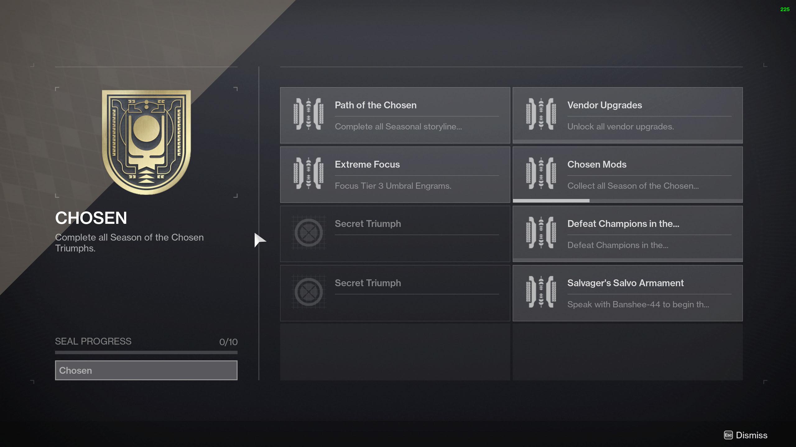 season of the chosen triumphs chosen title seal