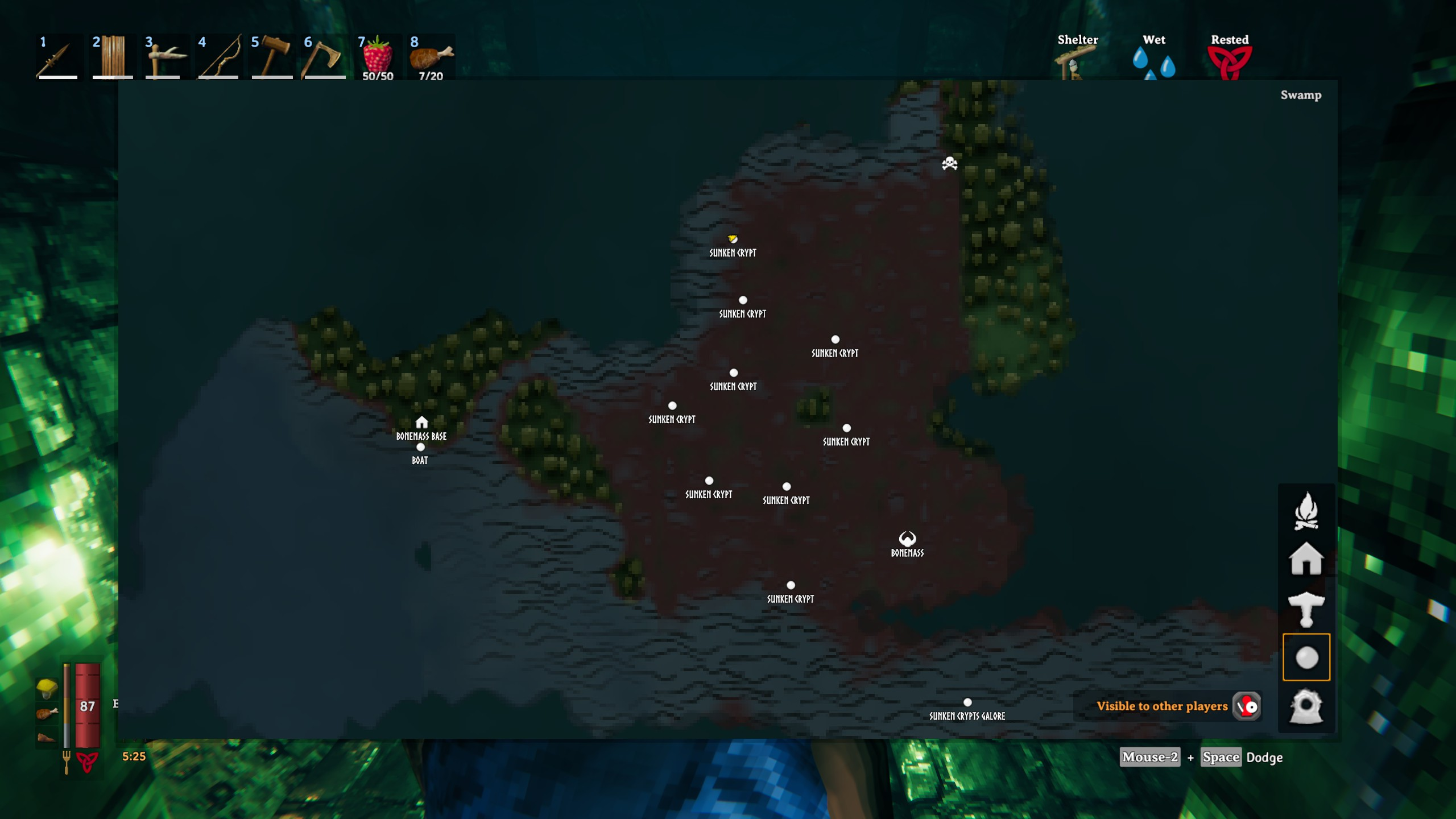 swamp sunken crypts valheim