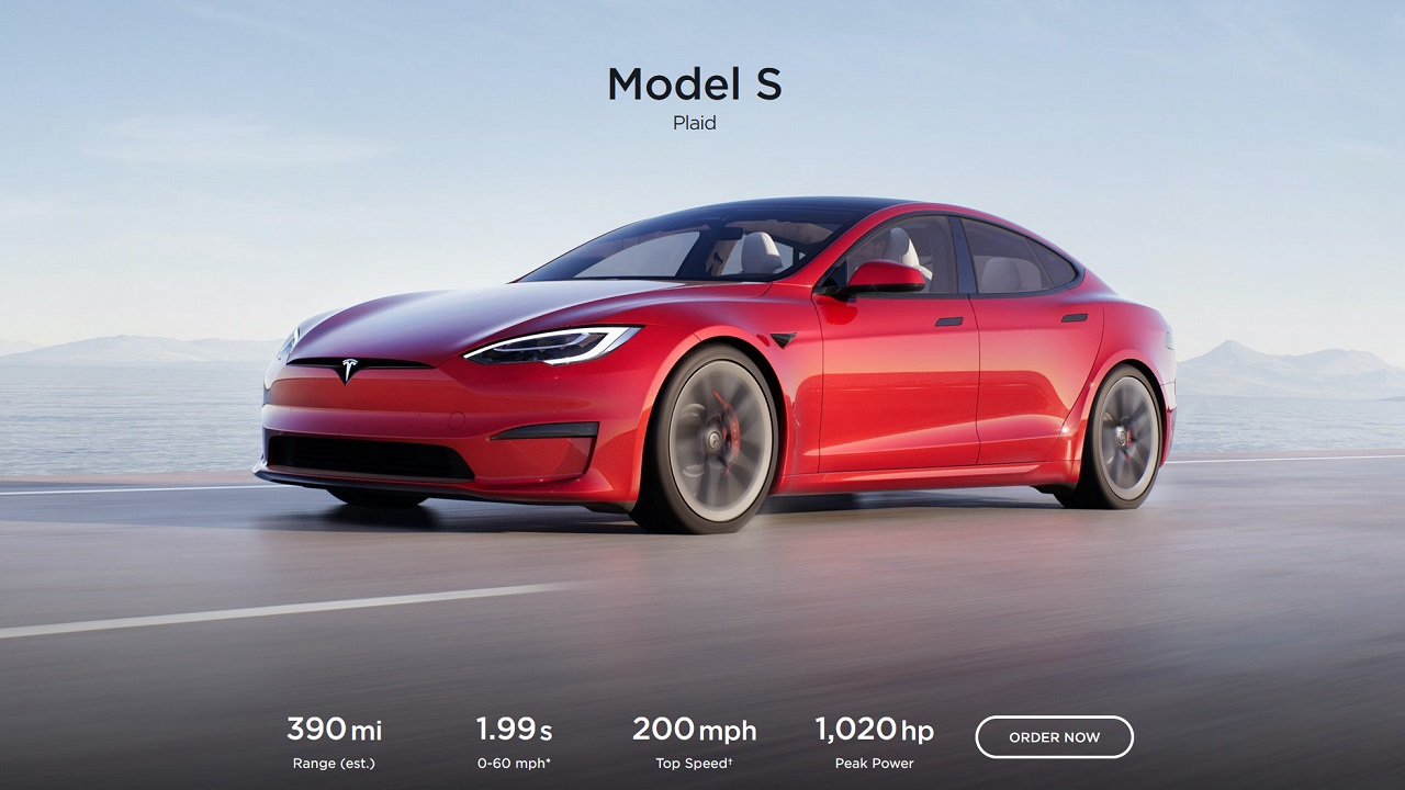 Although the official Tesla Model S Plaid lists its 0-60 at 1.99, Elon Musk claims recent testing achieved 1.96 seconds.
