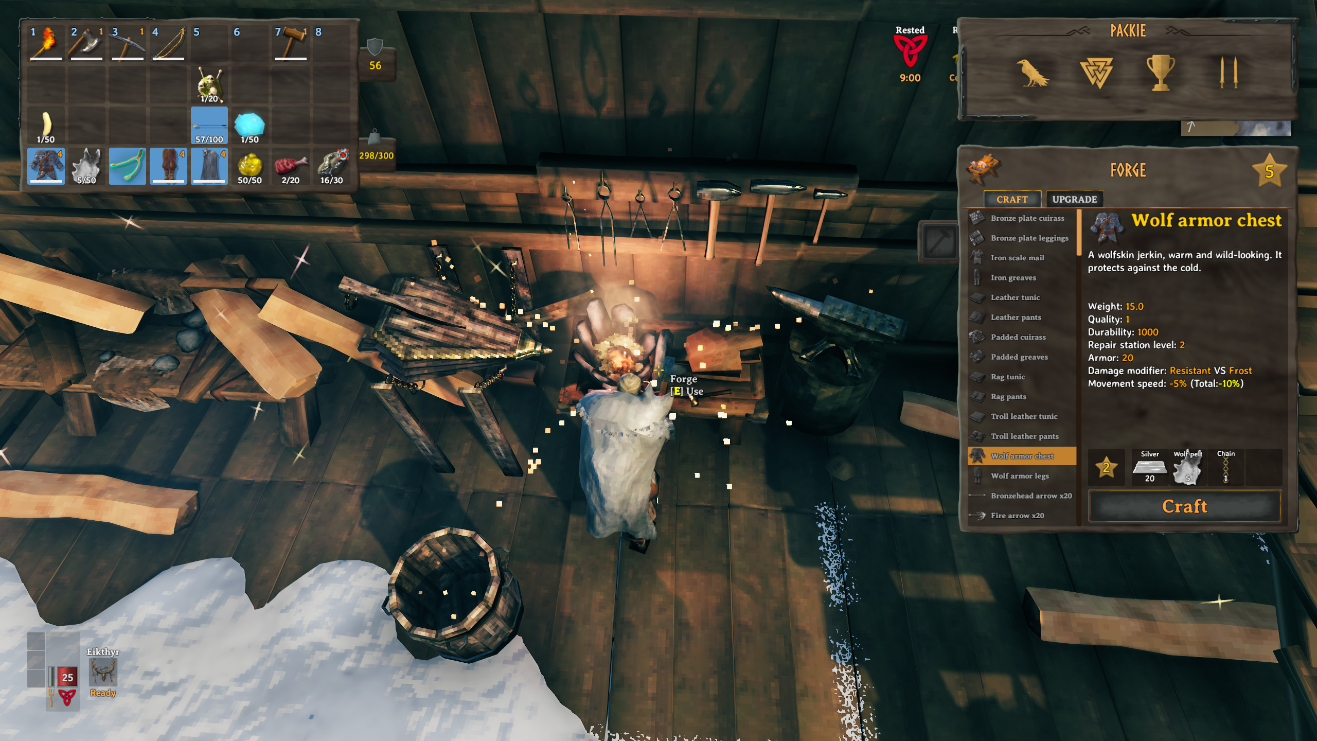 How to get Wolf Armor - Valheim