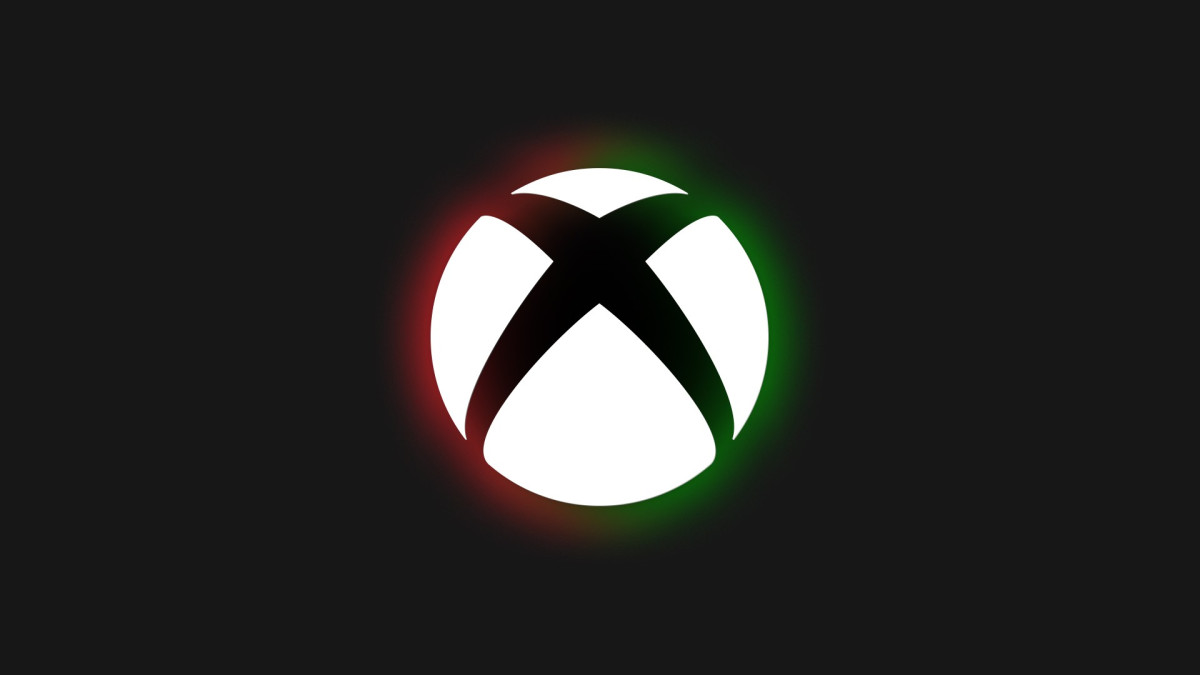 Xbox's Black History Month logo, using color from the Pan-African flag.