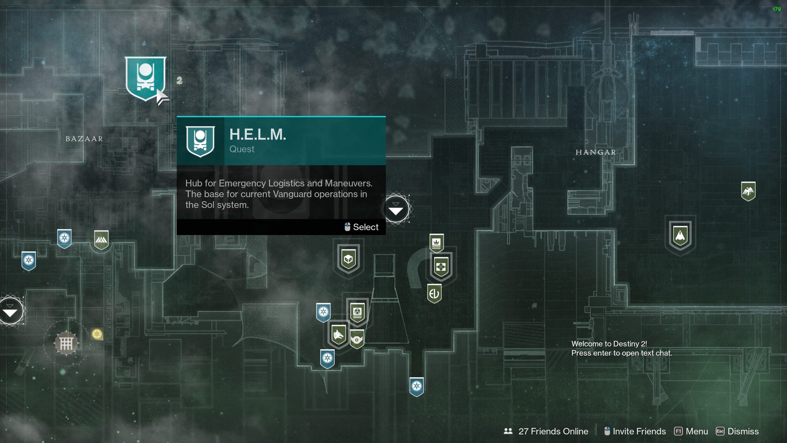 where is the helm destiny 2