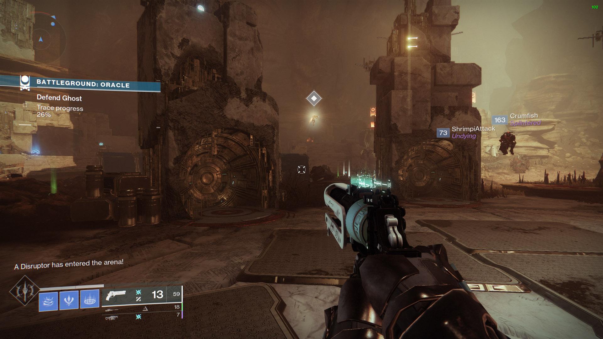 destiny 2 intruder alert disruptor psion