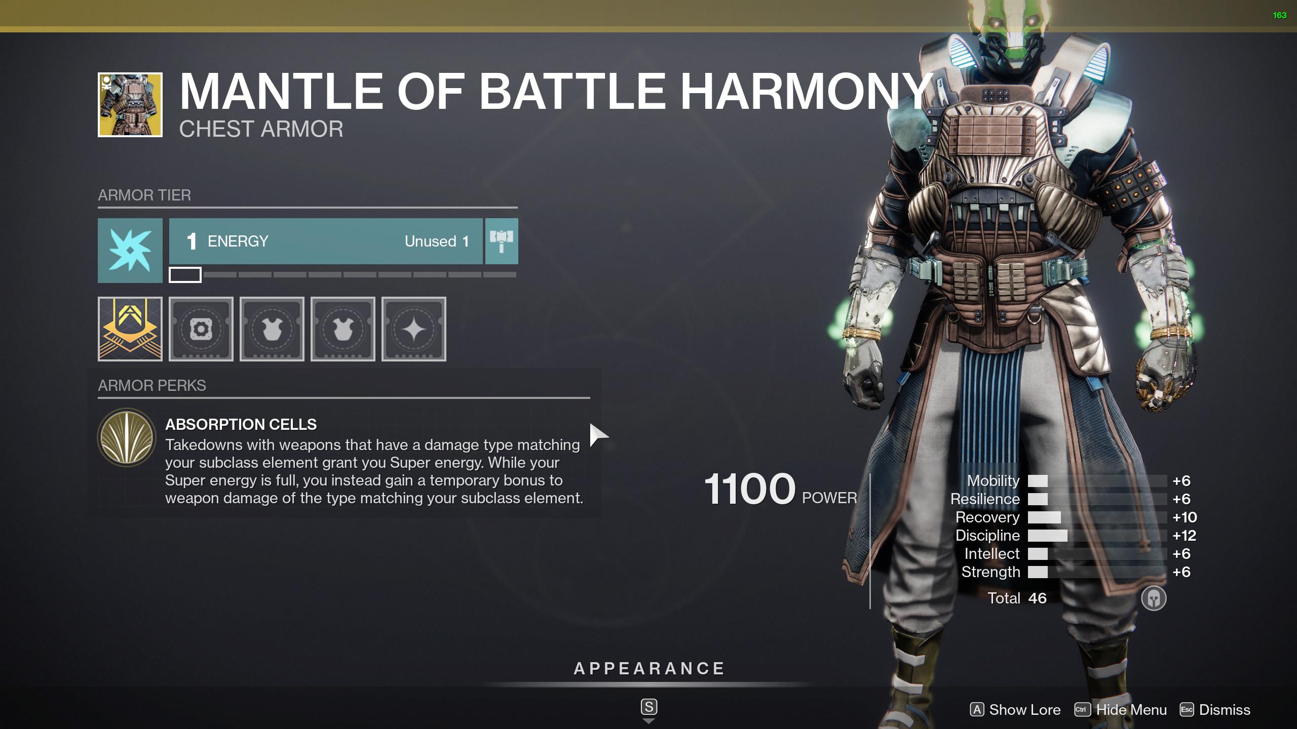 destiny 2 mantle of battle harmony