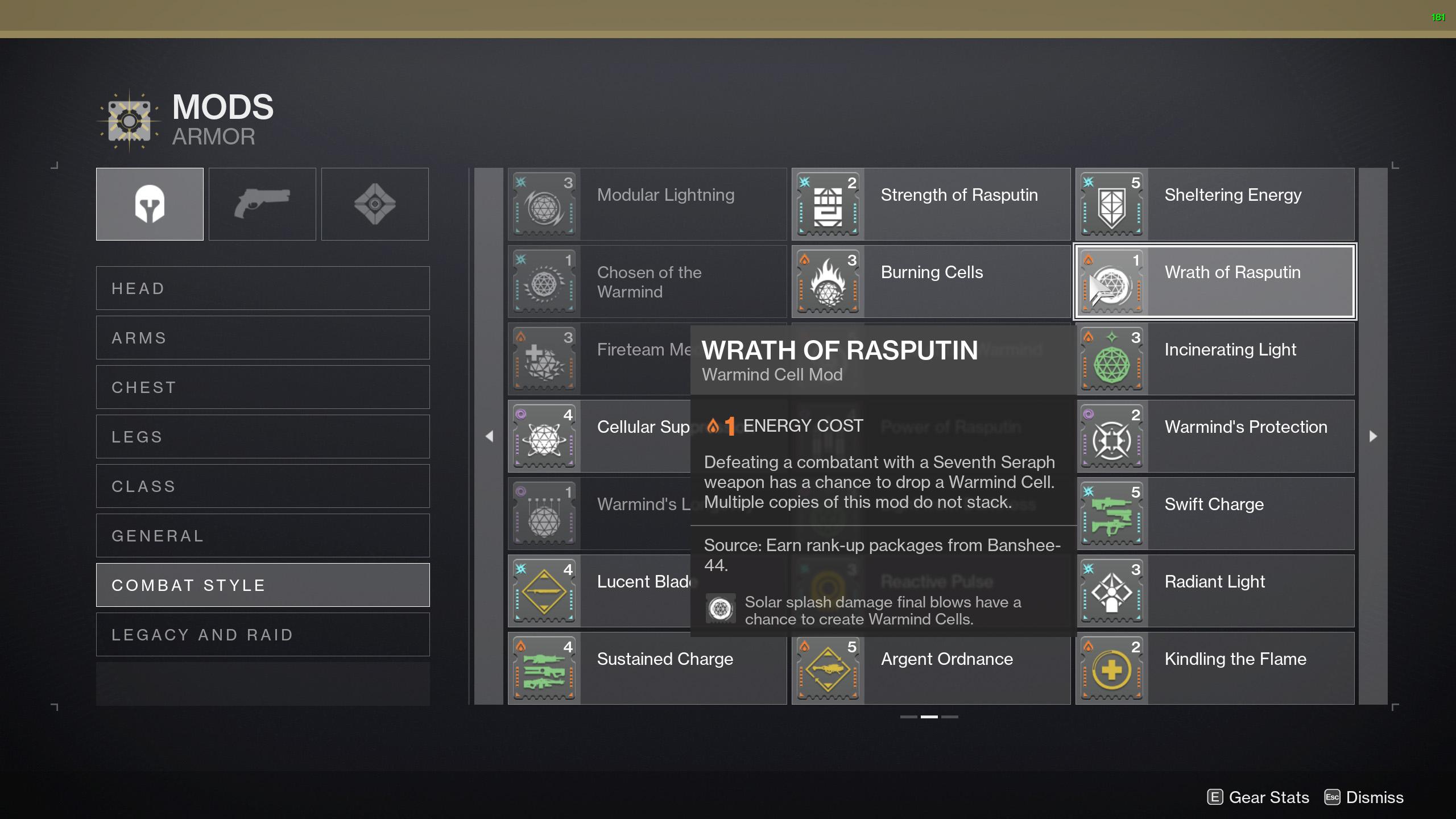 destiny 2 battle of mantle harmony build