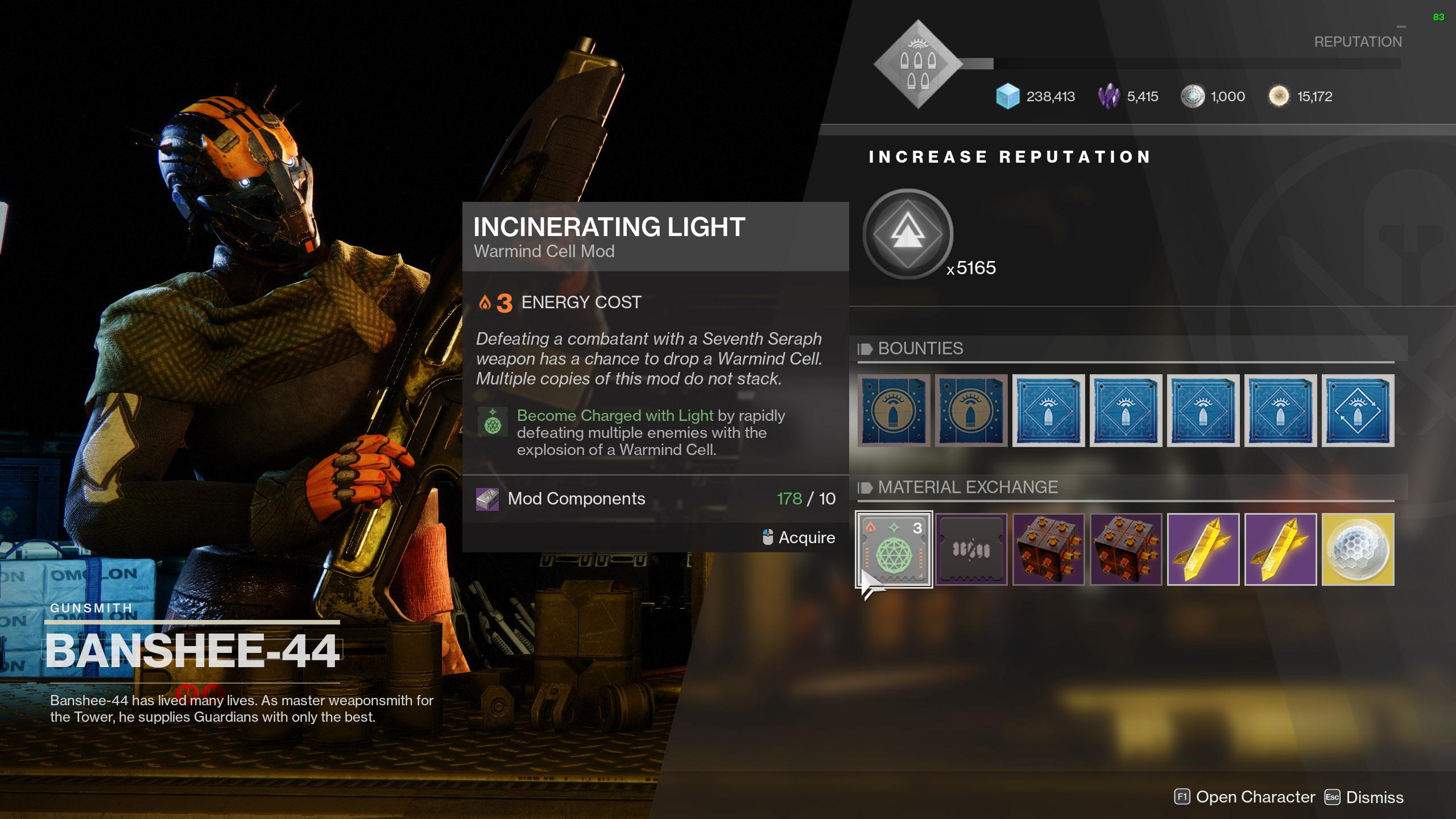 destiny 2 use mod components armor mods