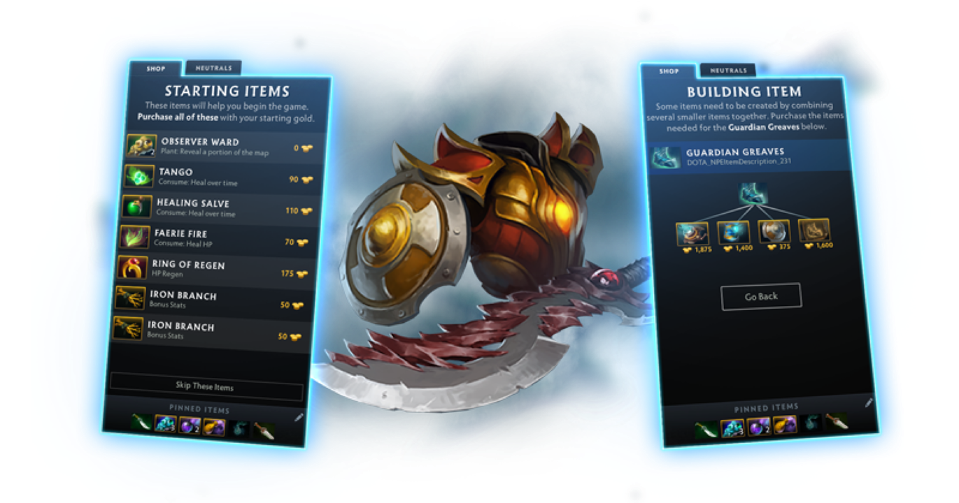 A revamped Item Shop focuses on the basic for newcomers.