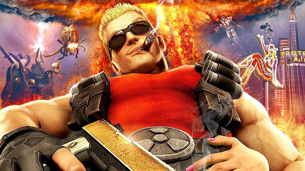 Thank you Duke Nukem for giving our humble staff two days off in a row.