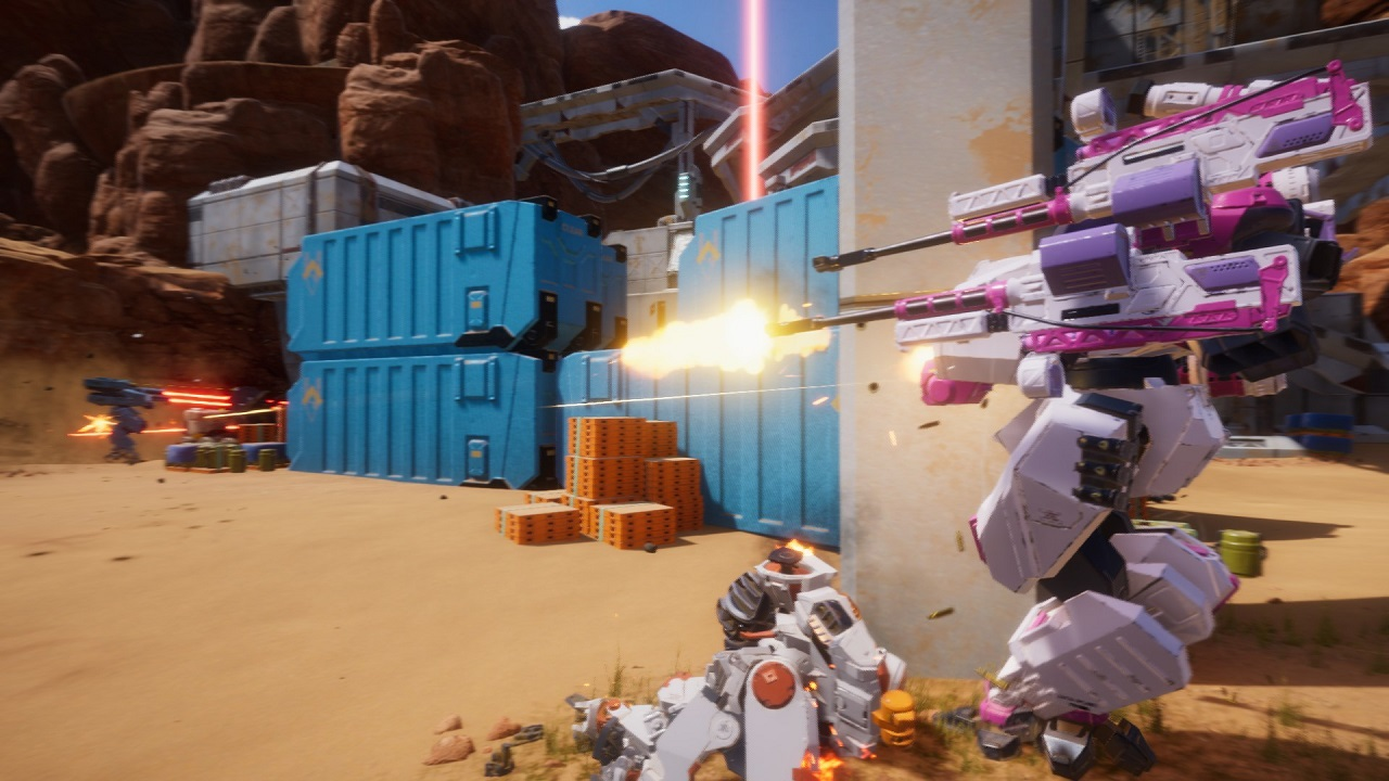 GALAHAD 3093's March 19 extended beta will allow players a thorough taste of mech customization and battle in its Base Assault game mode.