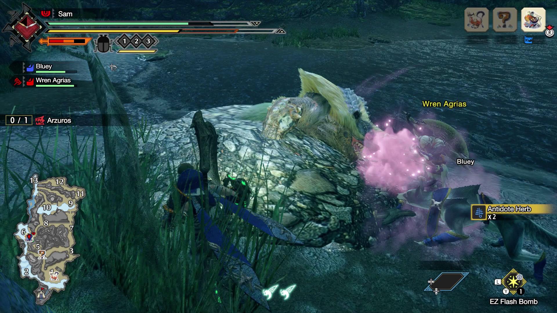 monster hunter rise capture monsters