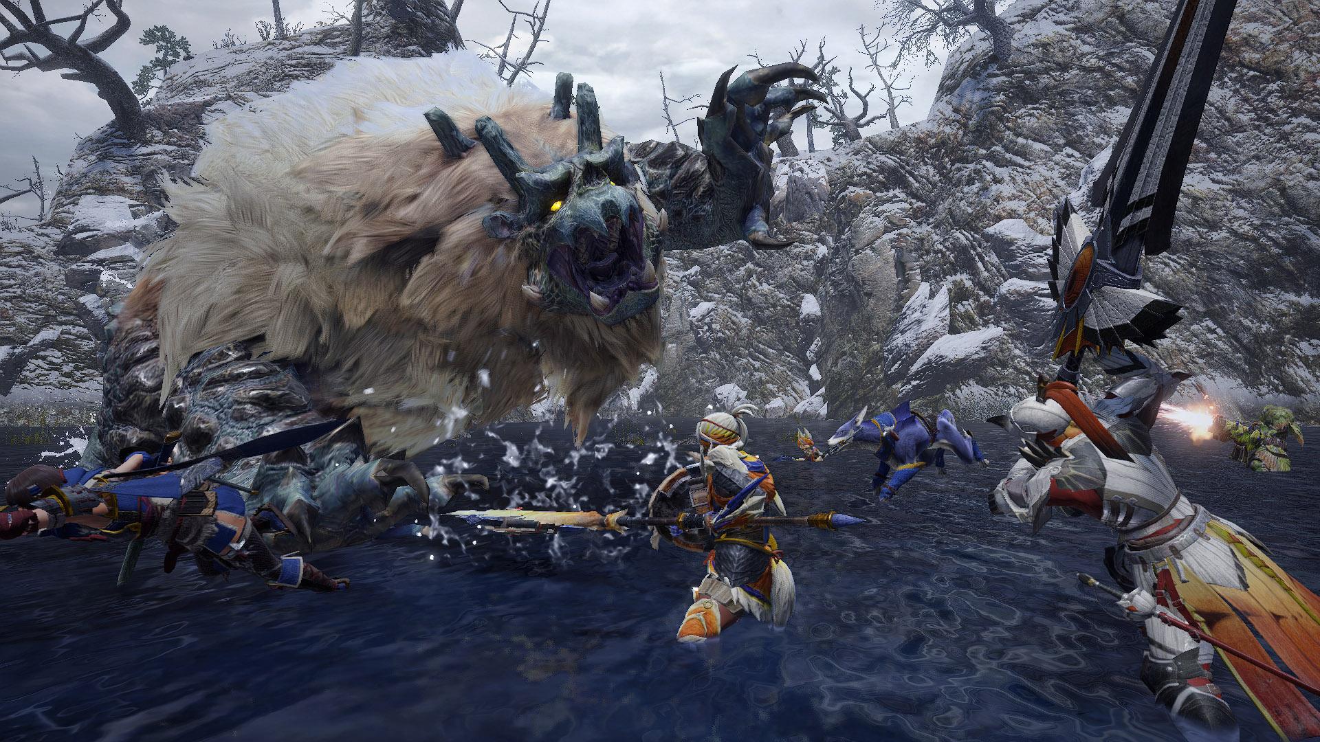 monster hunter rise new monsters goss harag