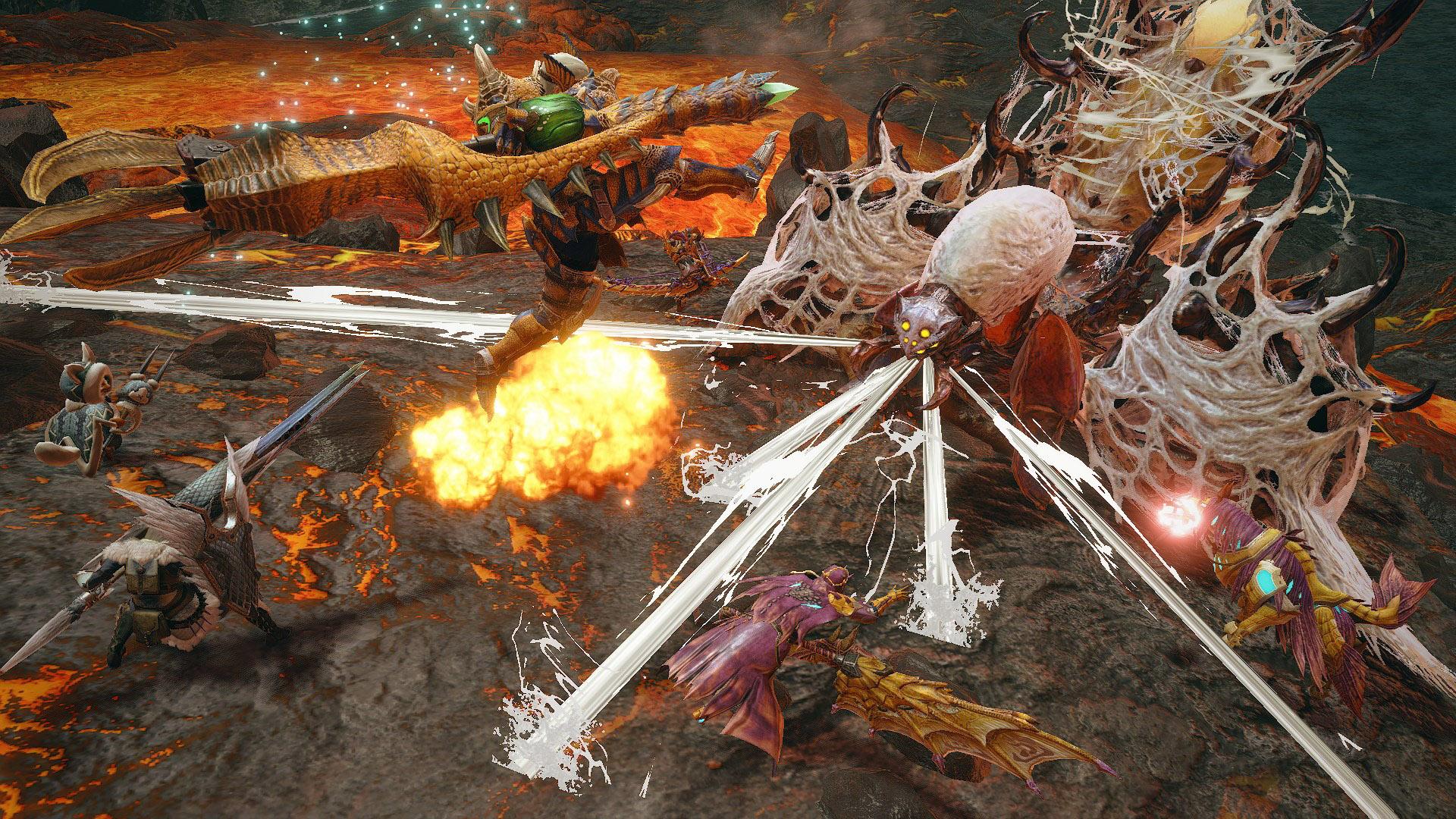 monster hunter rise new monsters rakna-kadaki