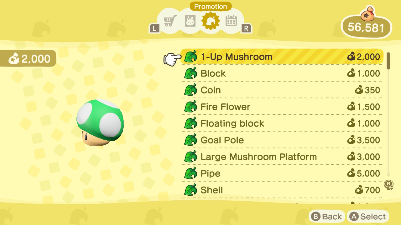 How to get Mario items - ACNH