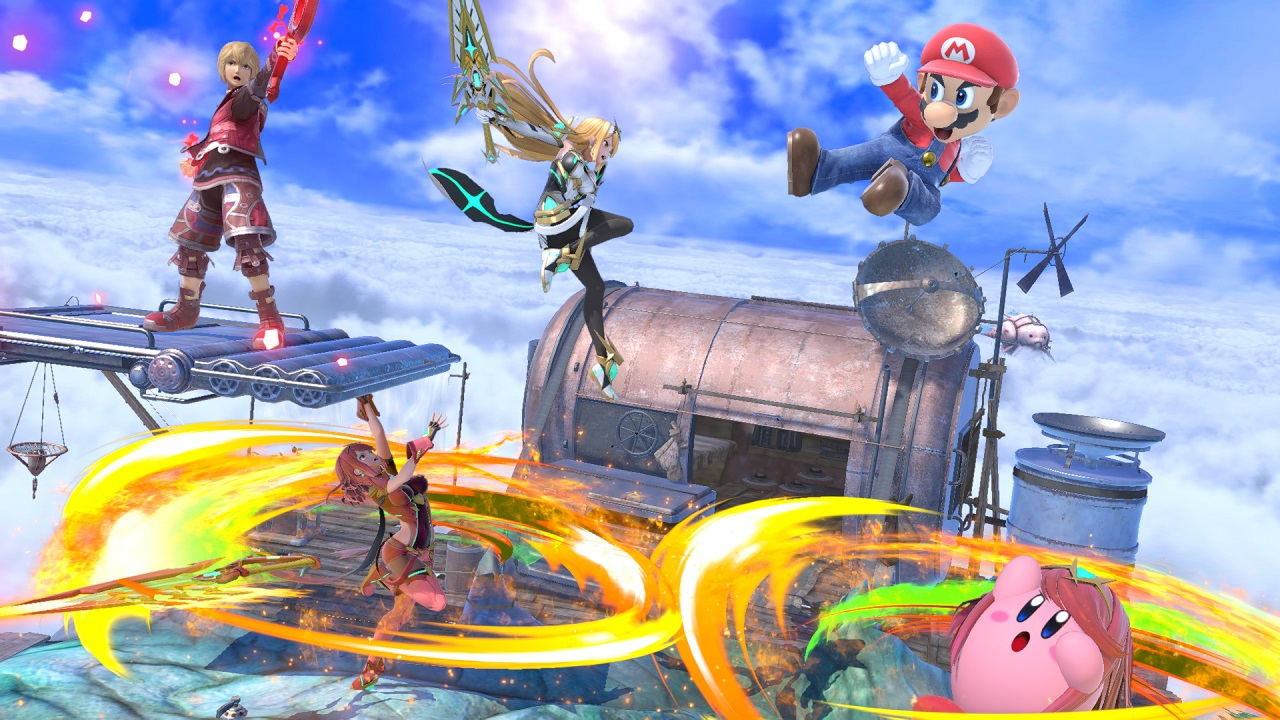 Pyra and Mythra from Xenoblade Chronicles 2 are the fourth character in the Super Smash Bros. Ultimate Fighters Pass Volume 2 DLC, and they launch later on March 4, 2021.
