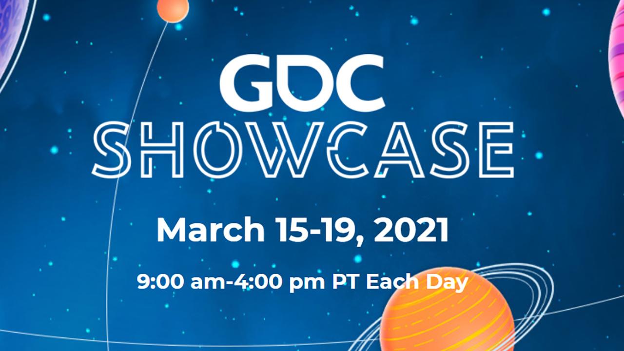 GDC showcase 2021 schedule