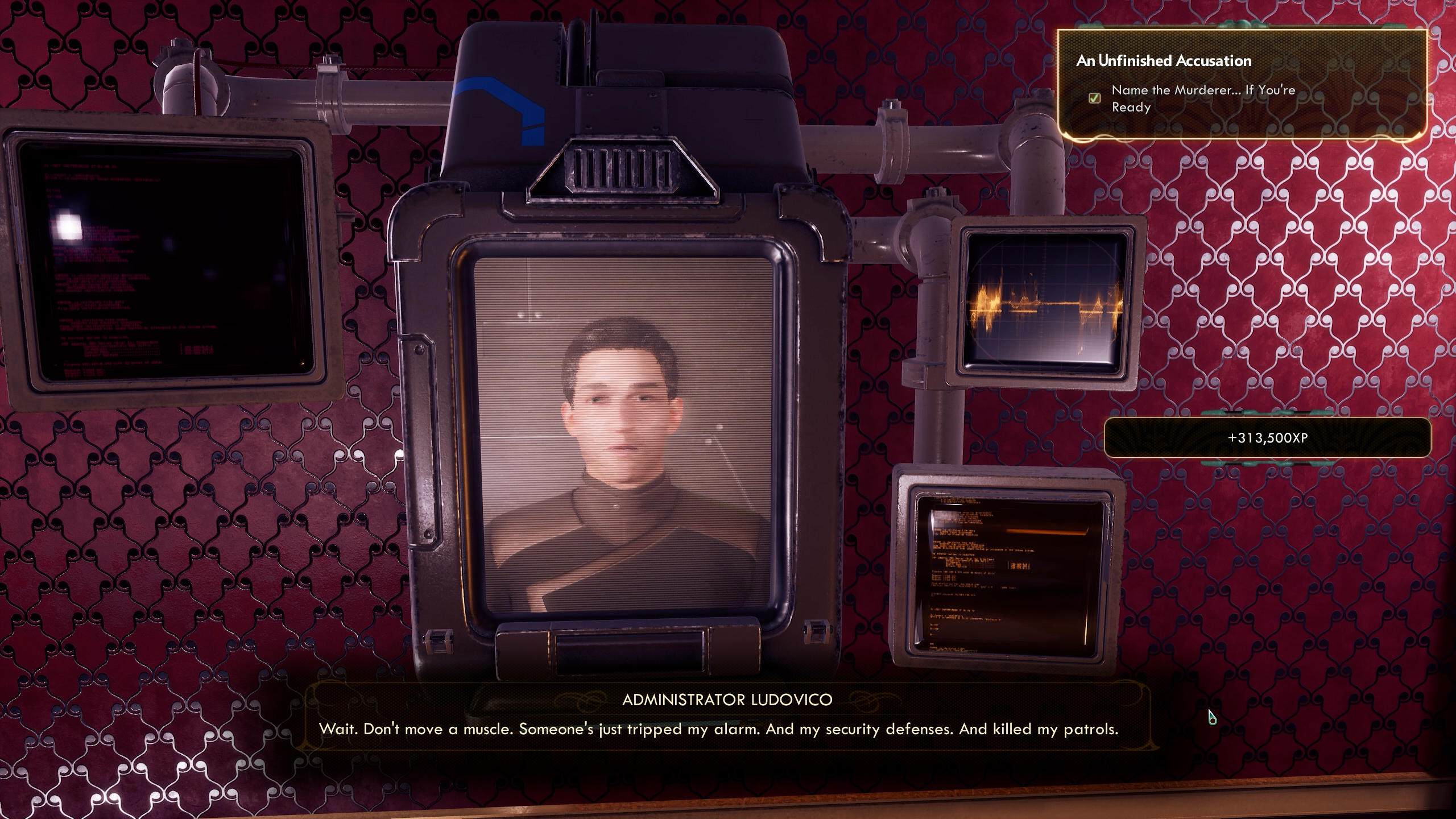 How to complete An Unfinished Accusation - The Outer Worlds: Murder on Eridanos