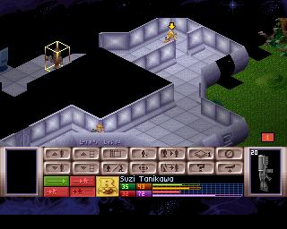 X-COM: UFO Defense on PlayStation.