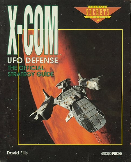 Prima's official strategy guide for X-COM (1994).
