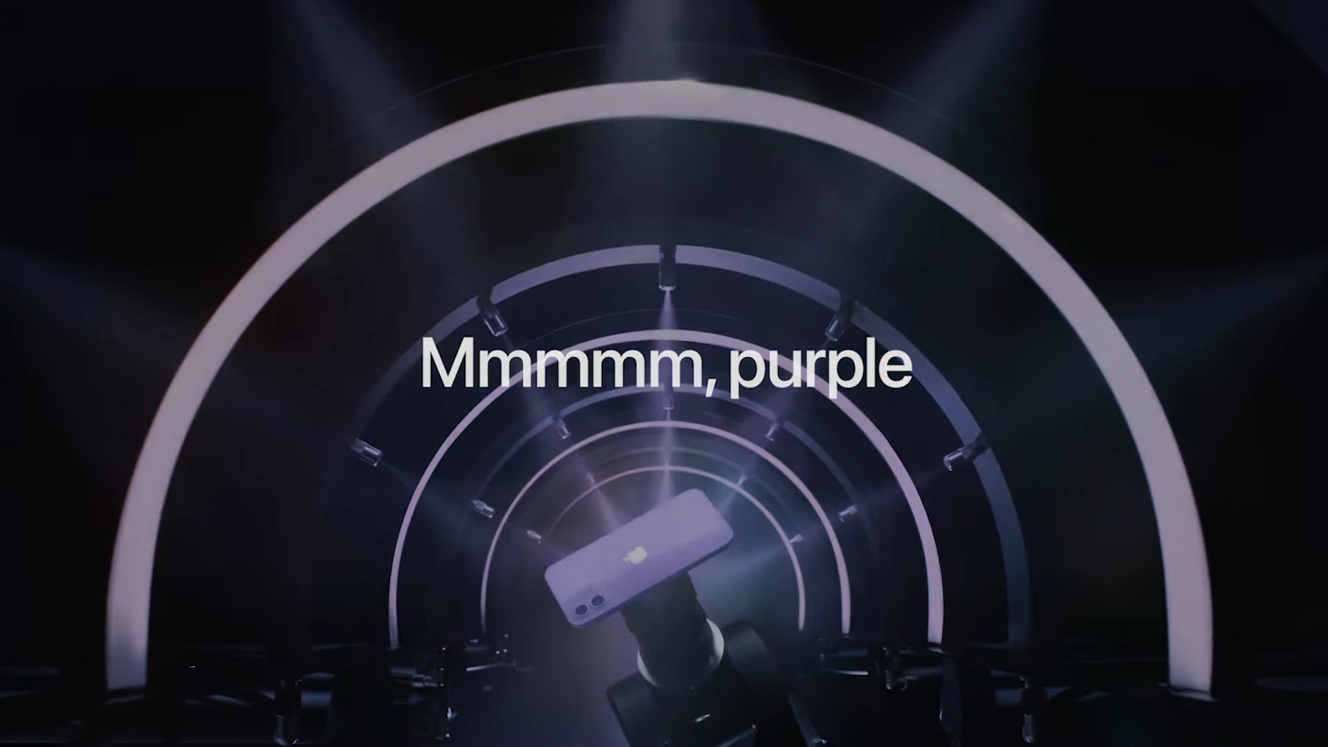 Apple innovated earlier this year with the introduction of a purple iPhone!