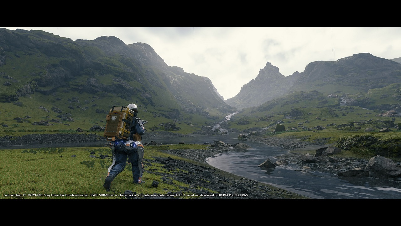 The PC port of Death Stranding featured graphical upgrades like DLSS and RTX to visually boost it over its original PS4 launch.