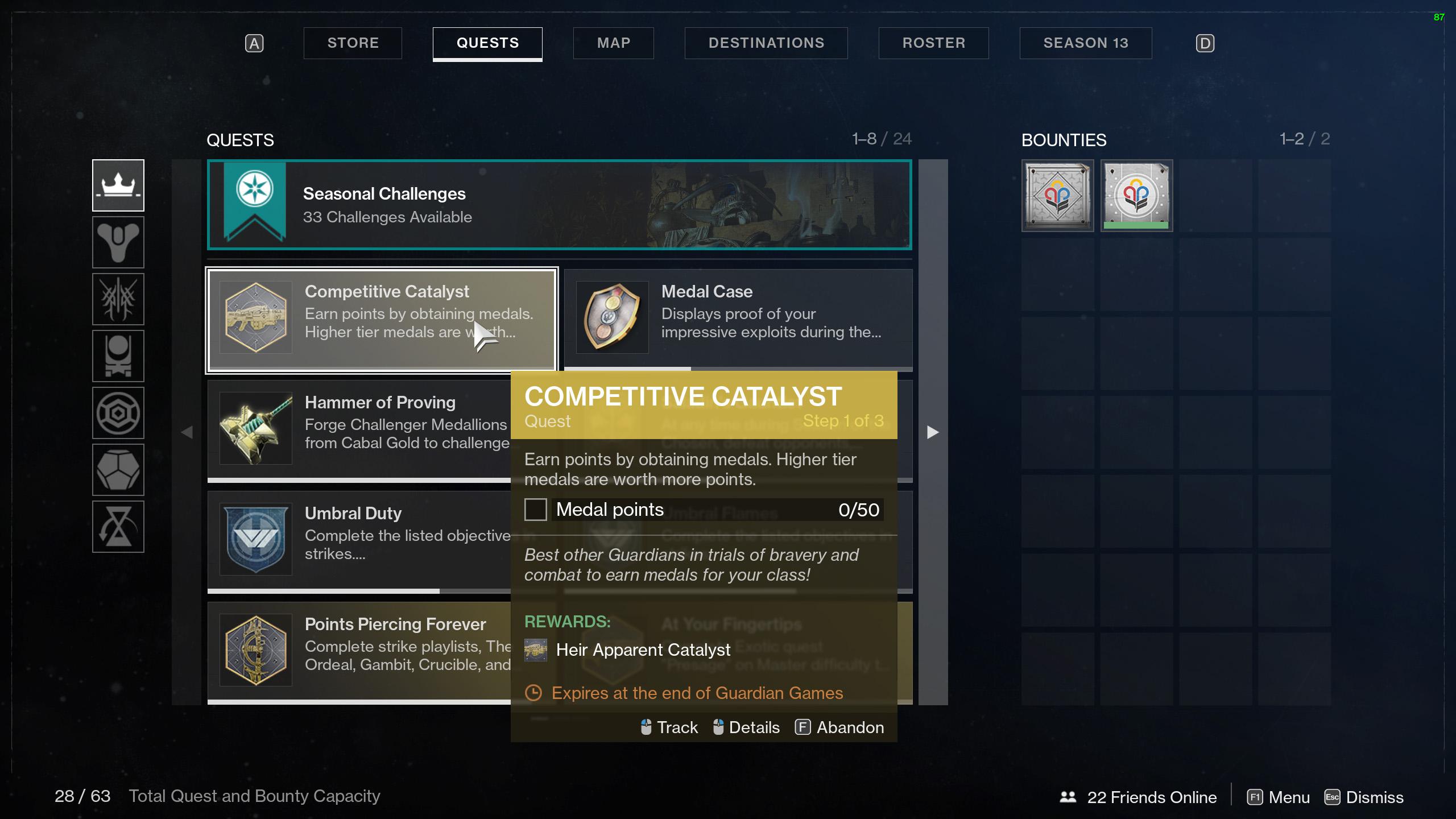 destiny 2 competitive catalyst