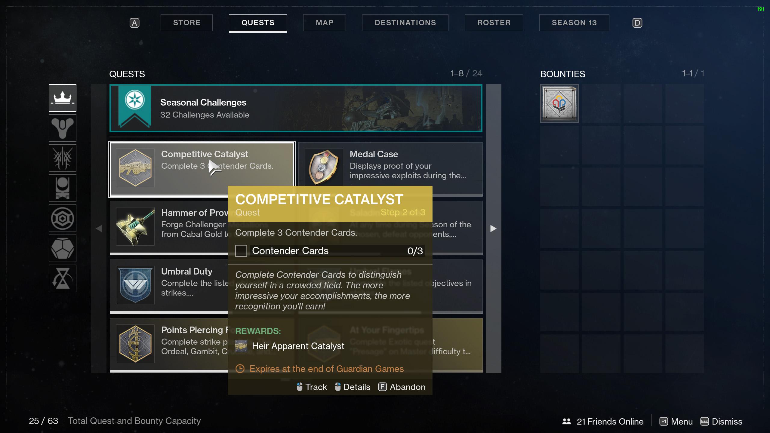 destiny 2 heir apparent catalyst