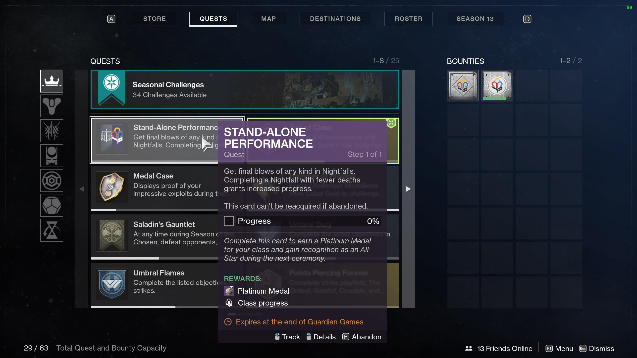 destiny 2 guardian games contender cards