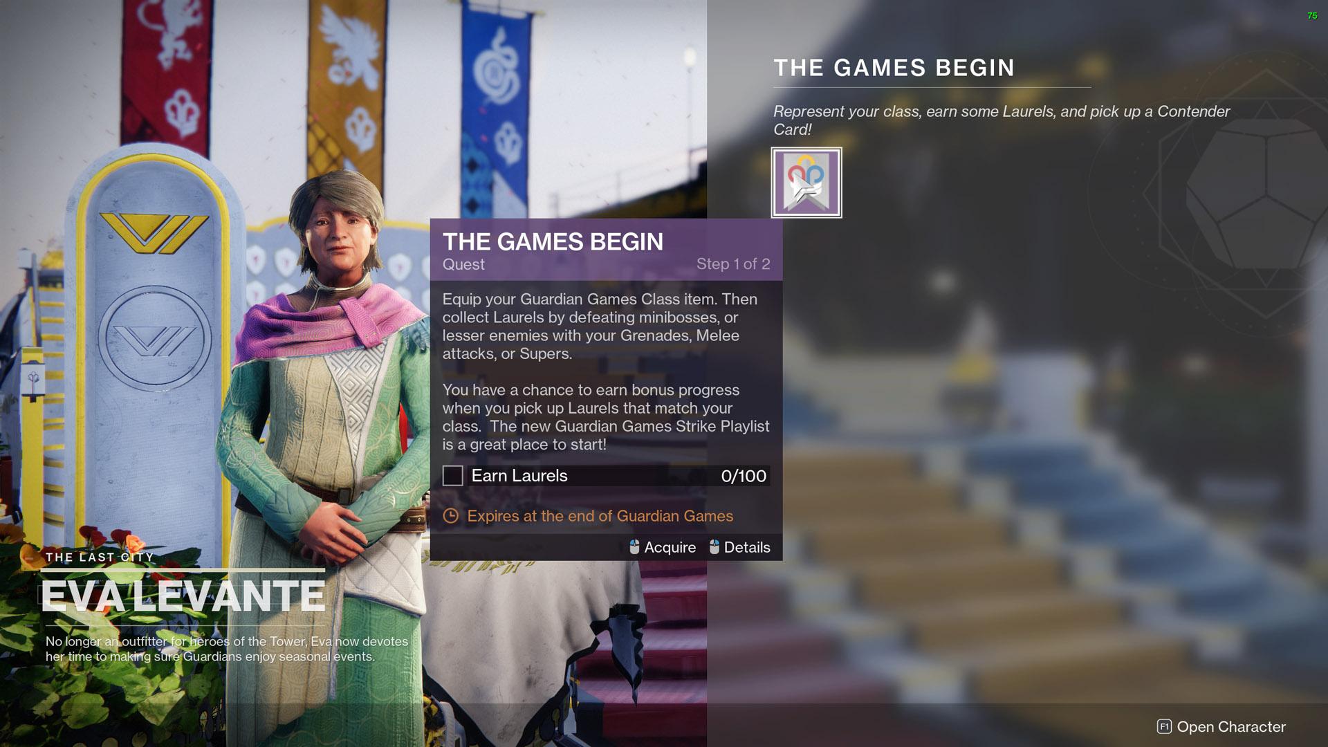 destiny 2 guardian games 2021 the games begin