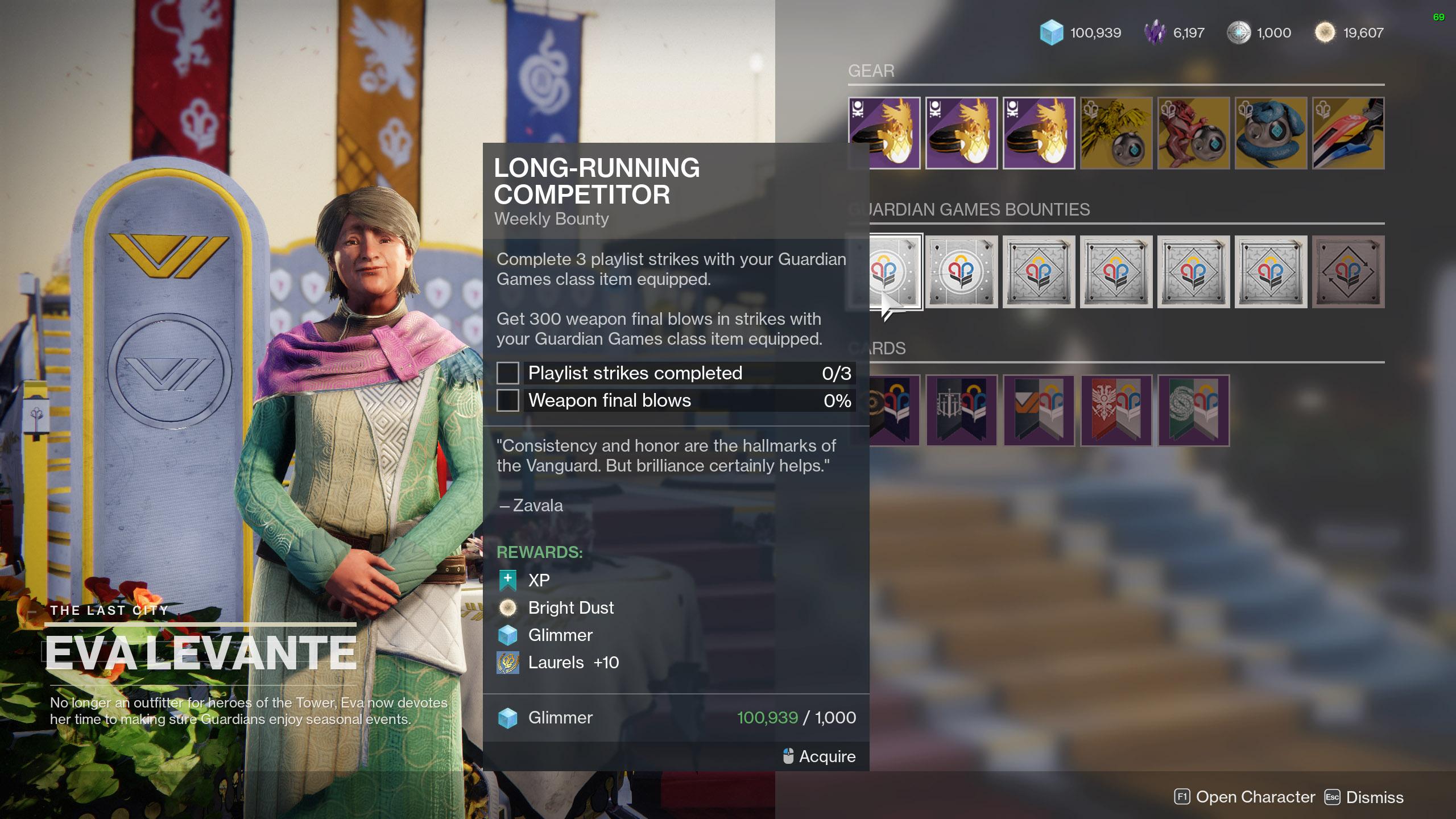 destiny 2 guardian games 2021 weekly bounties