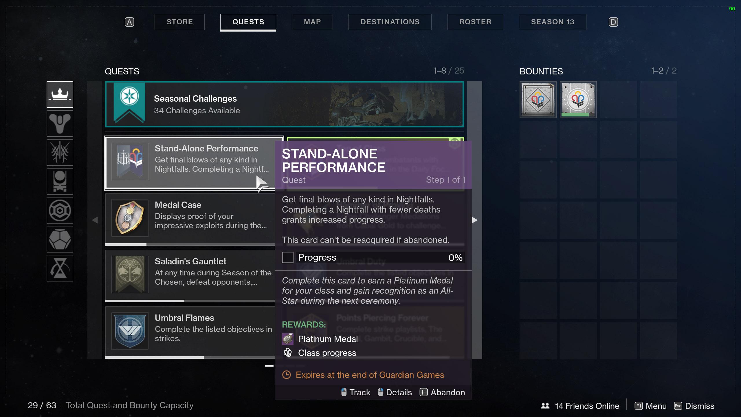 destiny 2 guardian games medals