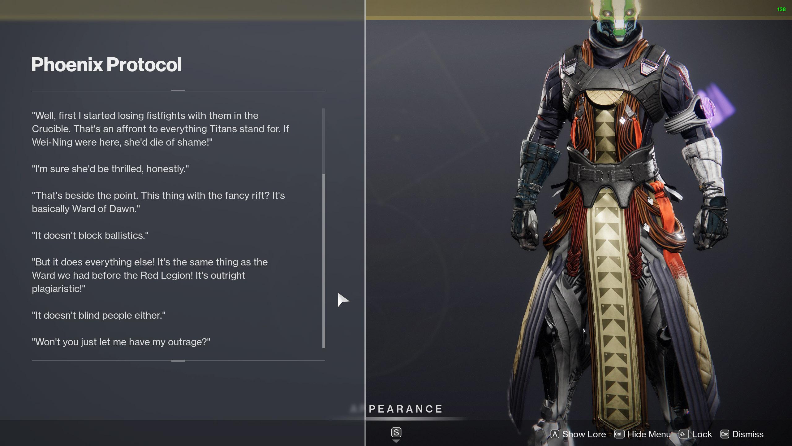 destiny 2 phoenix protocol lore