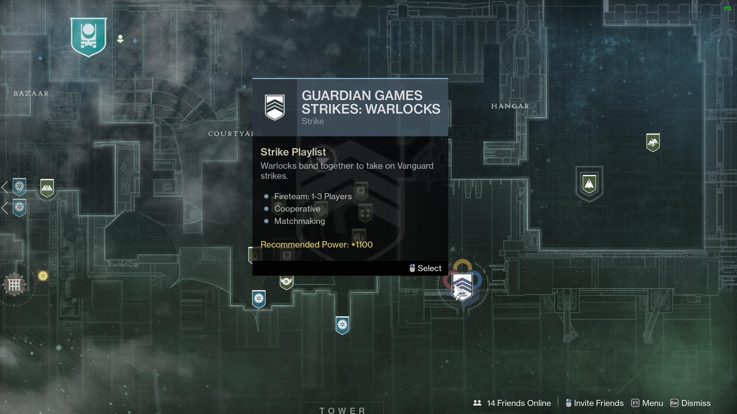 destiny 2 guardian games strike playlist