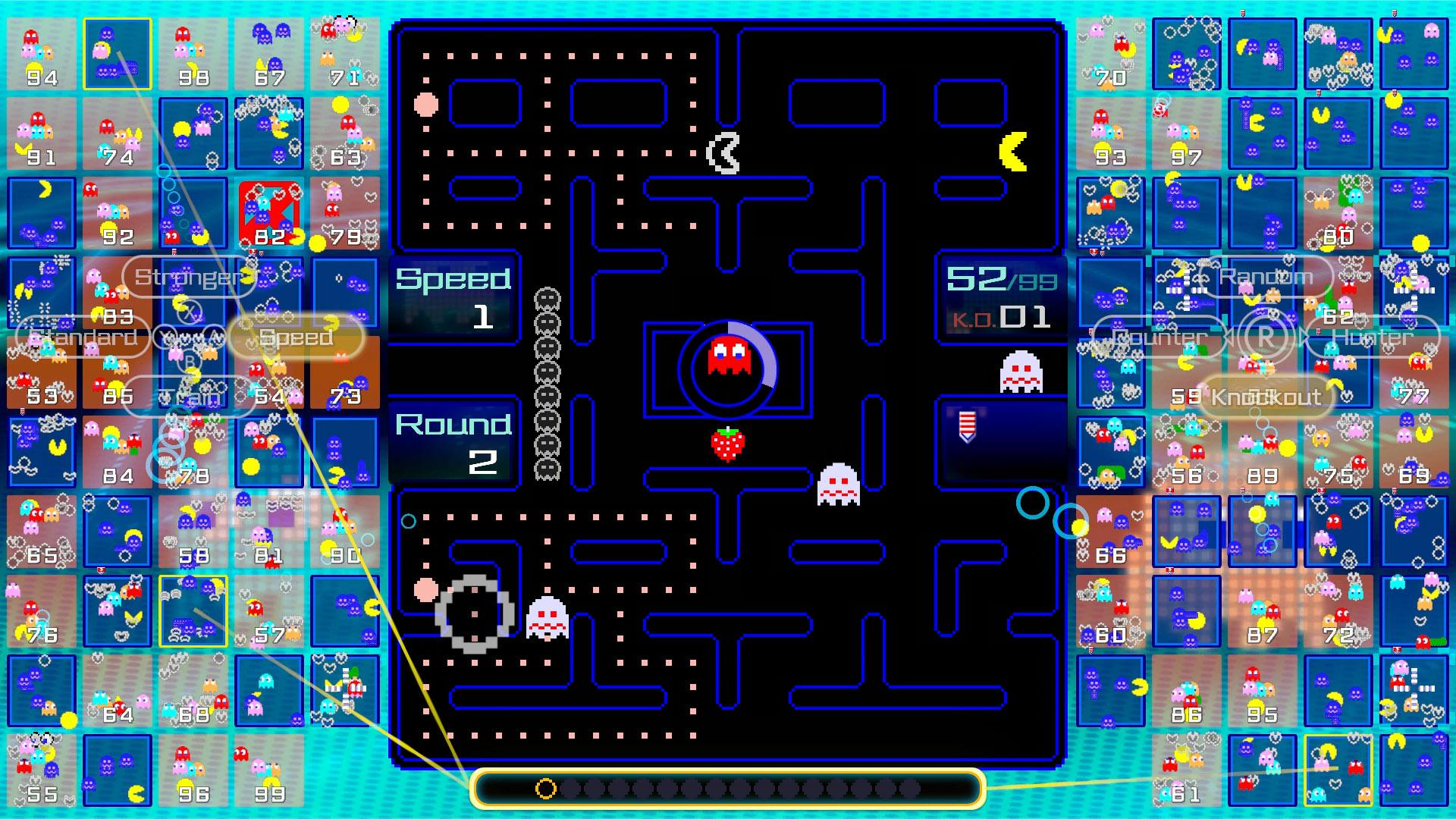 pac-man 99 fruit respawn