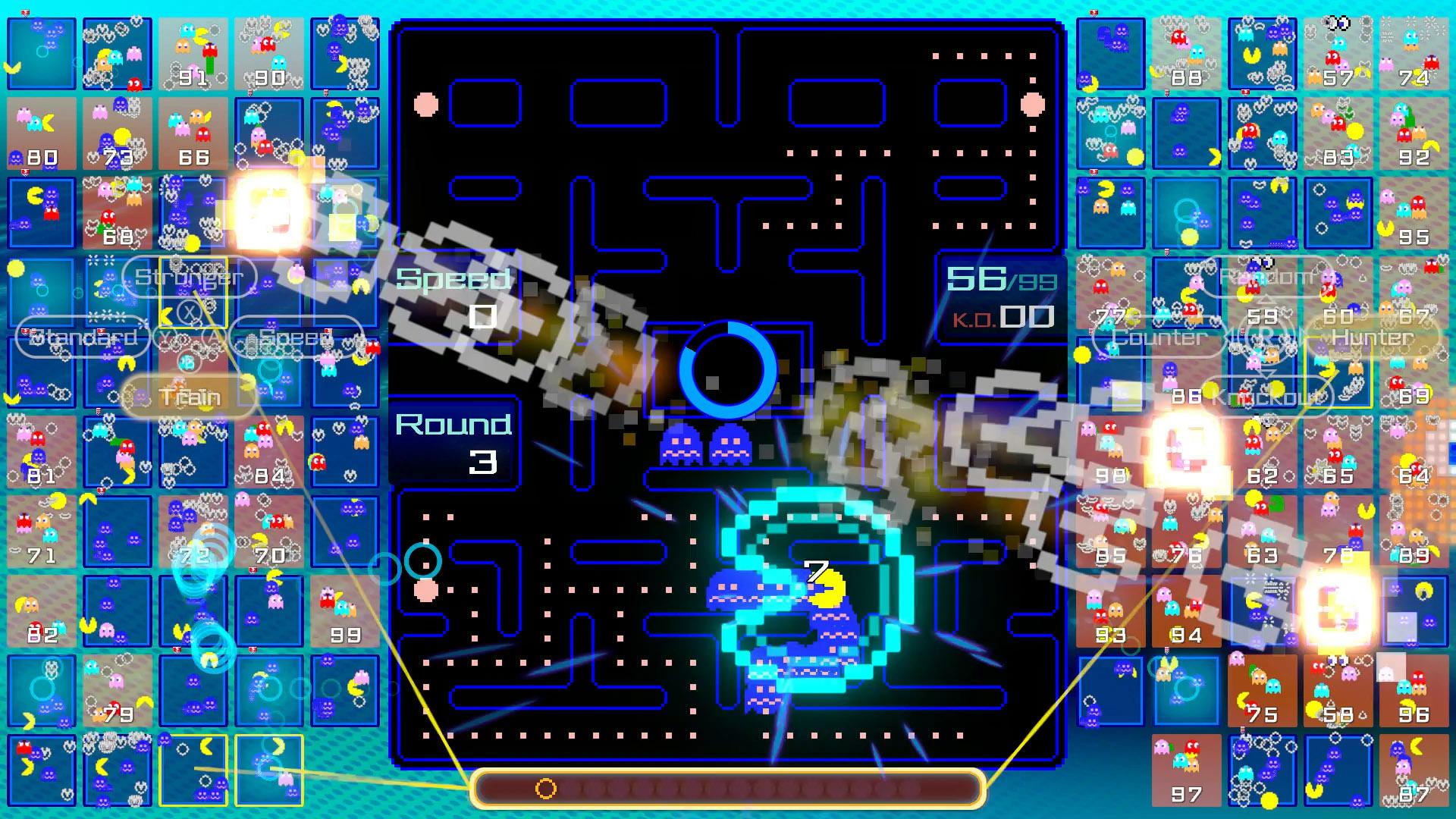 pac-man 99 target players