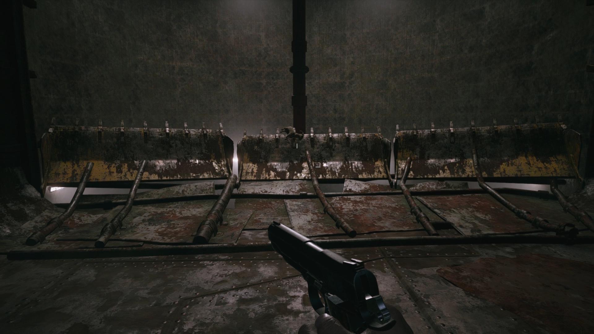 resident evil village goat of warding ventilation duct heisenbergs factory
