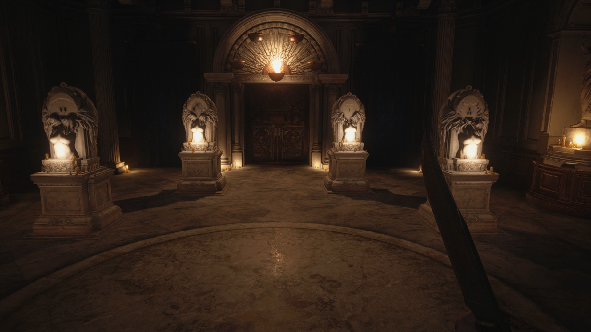 resident evil village hall of the four mask locations
