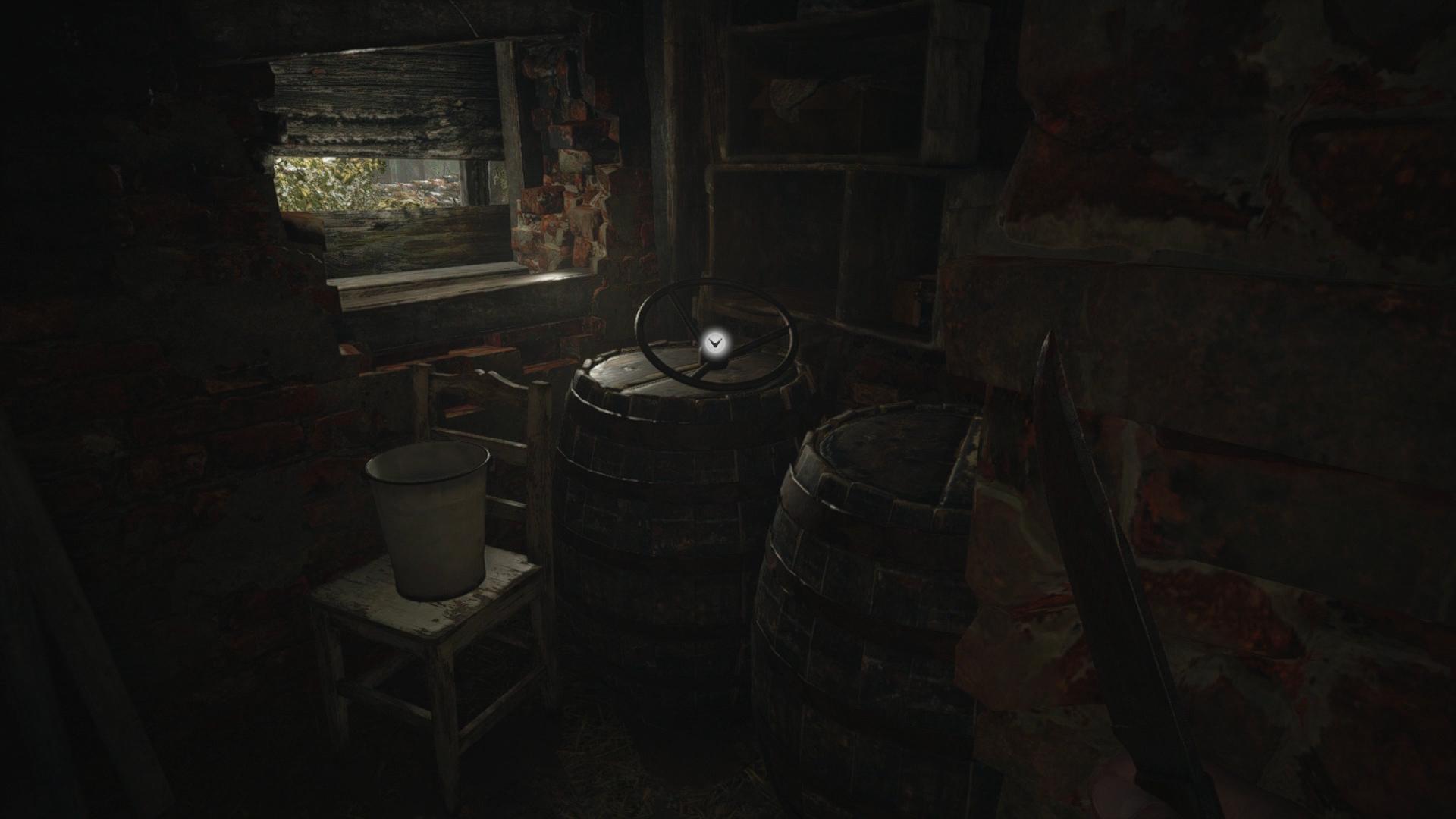 resident evil village well wheel