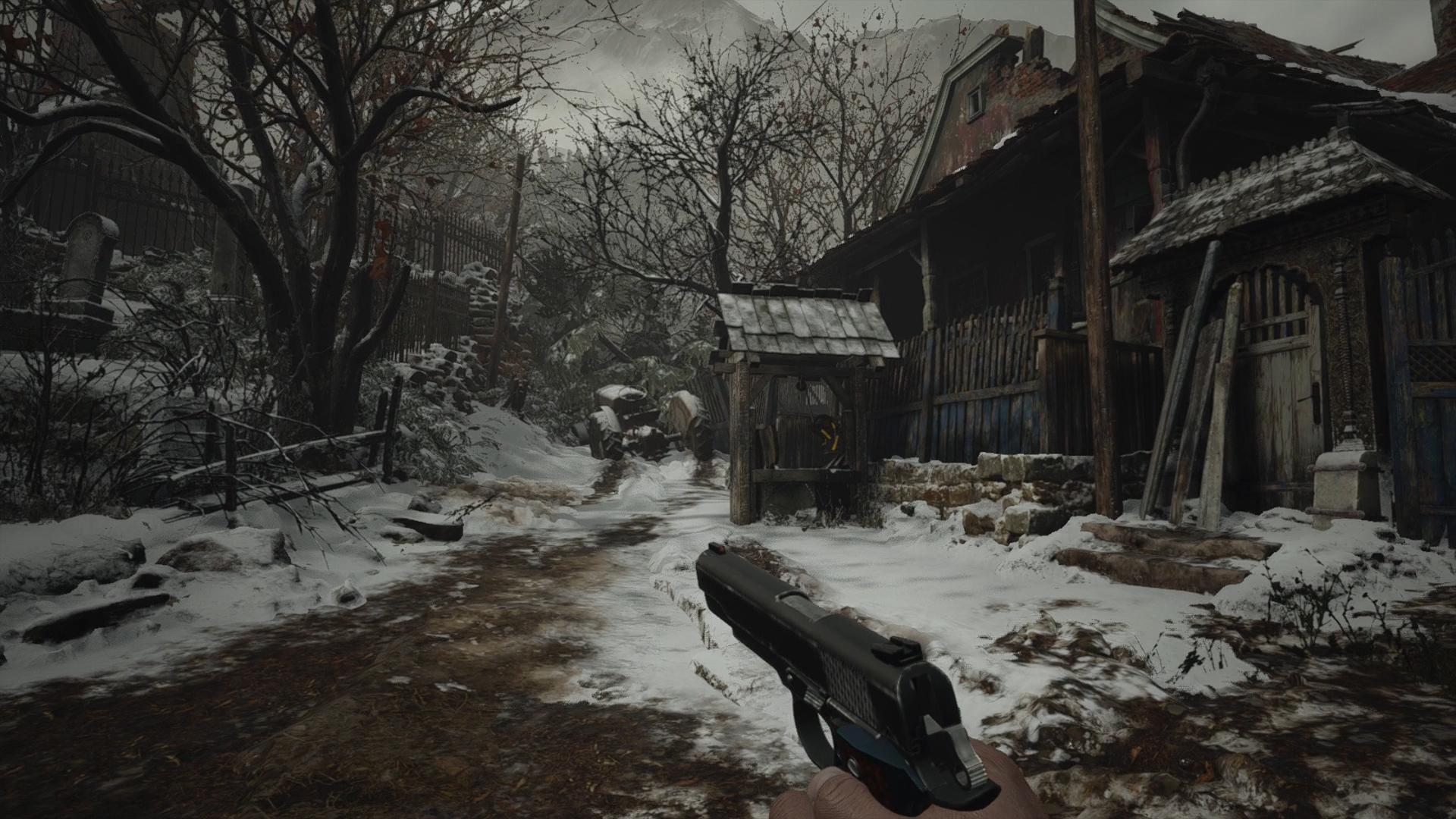 resident evil village wooden animal head