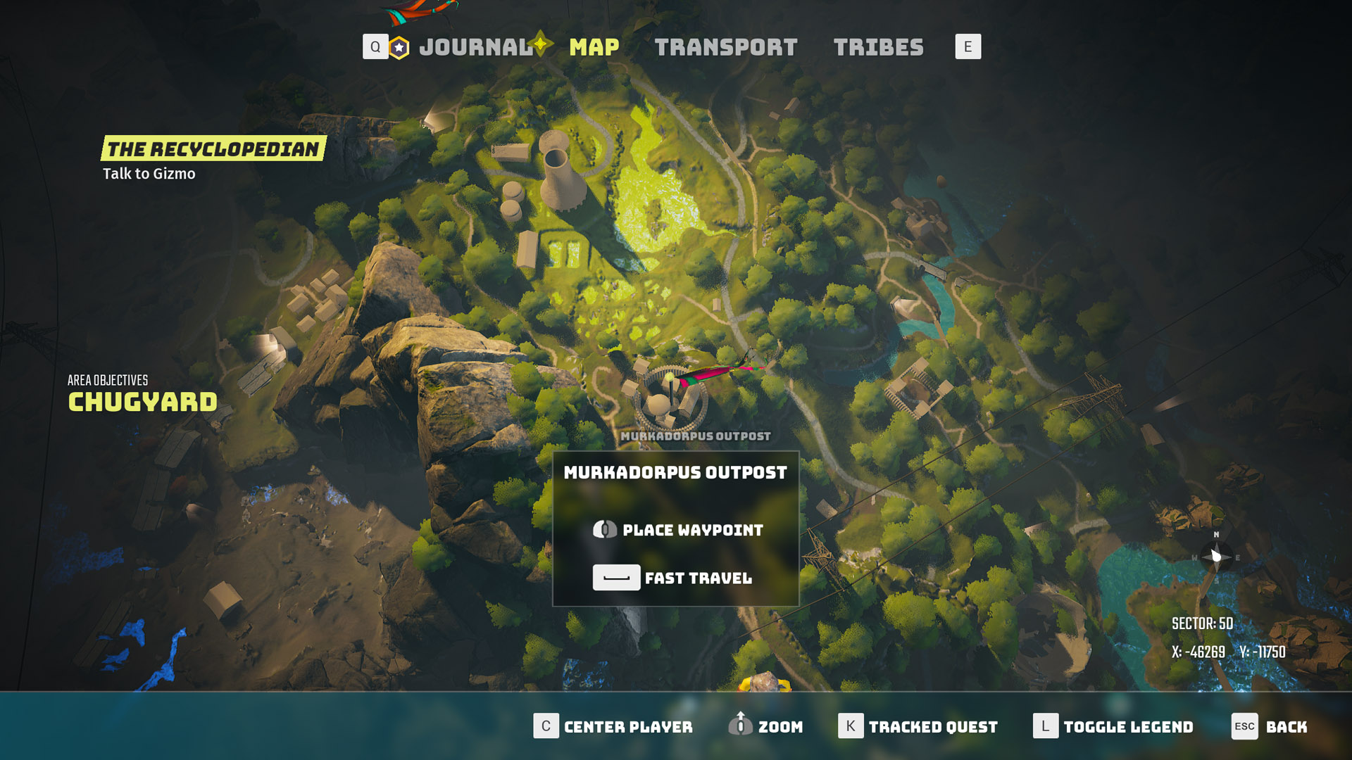 biomutant fast travel map