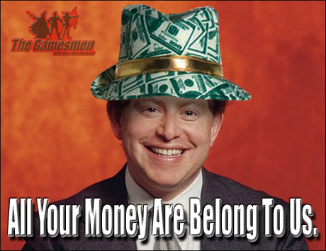 Bobby Kotick seen here with his money hat.