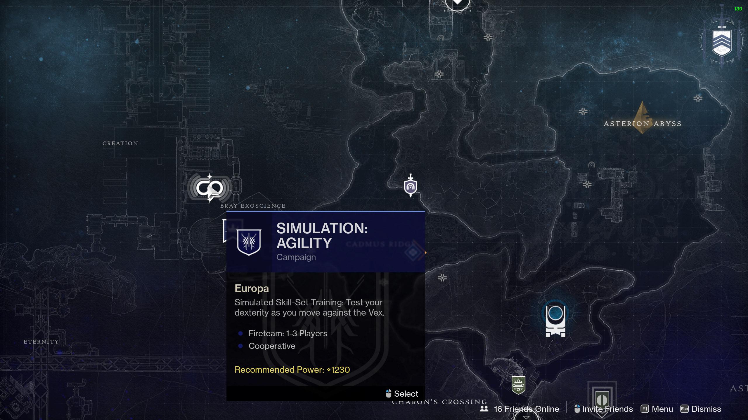destiny 2 aspect of interfernce exo challenge