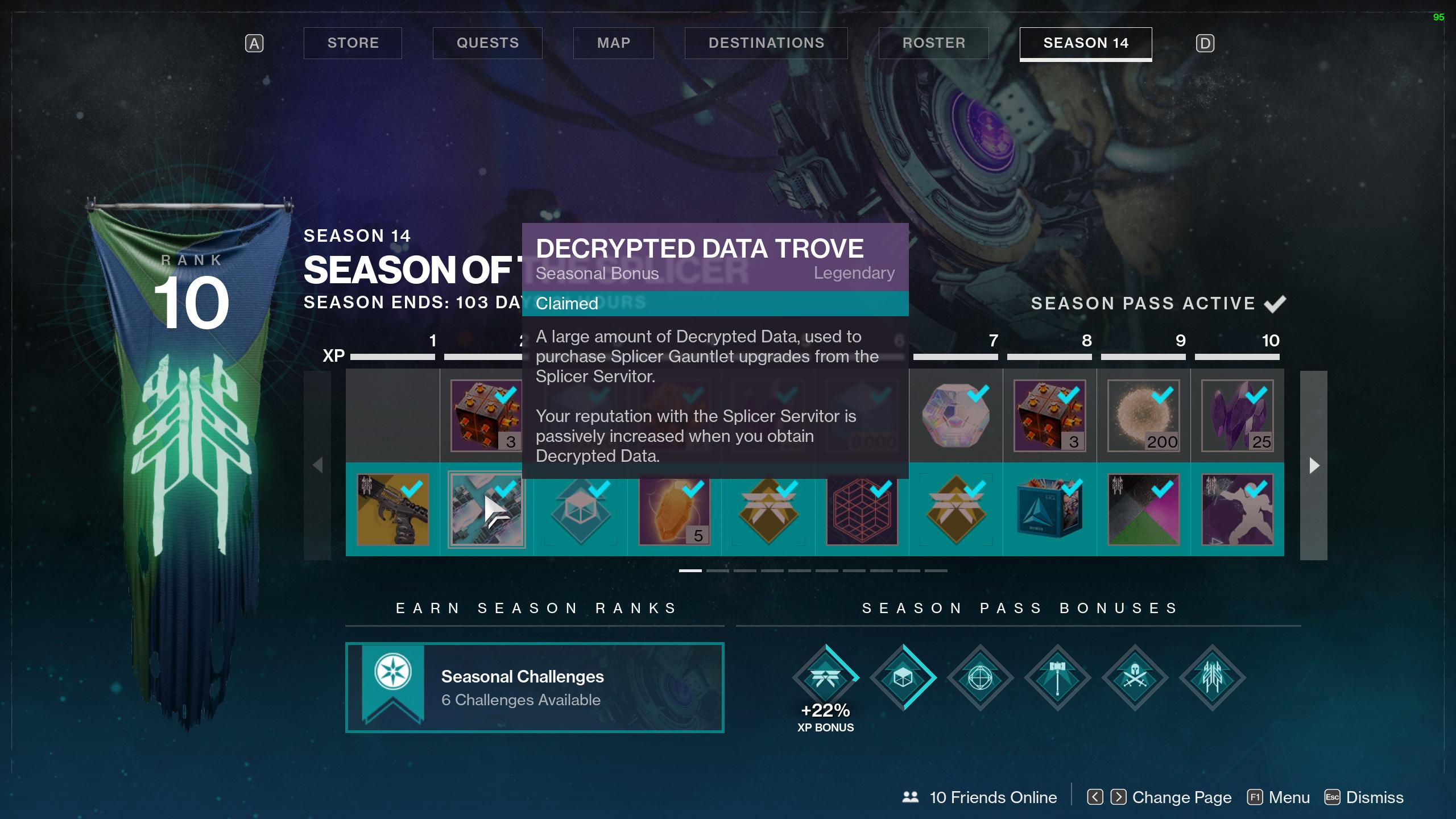 destiny 2 decrypted data season pass