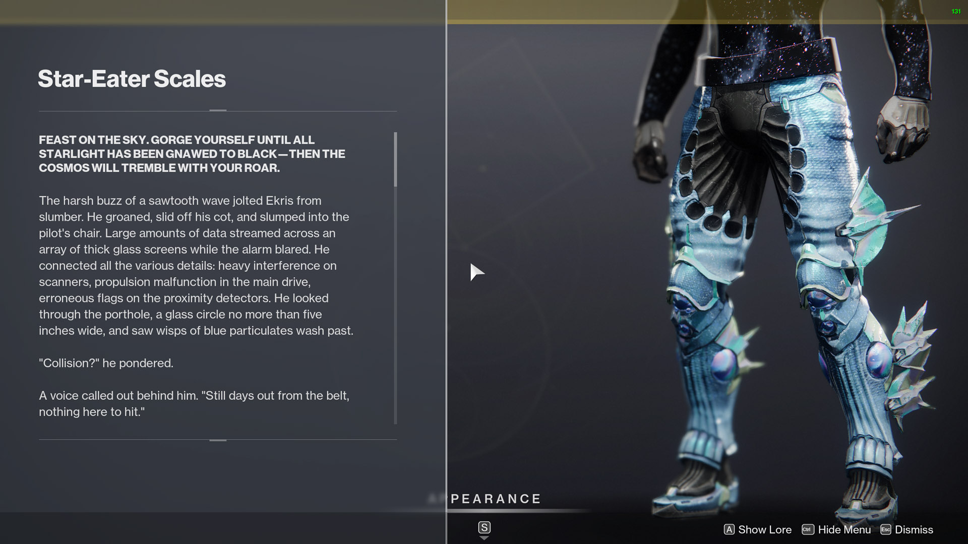 destiny 2 star-eater scales lore